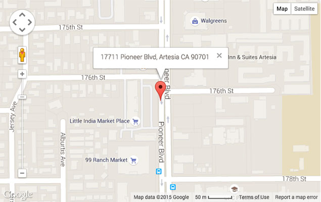Artesia-Location