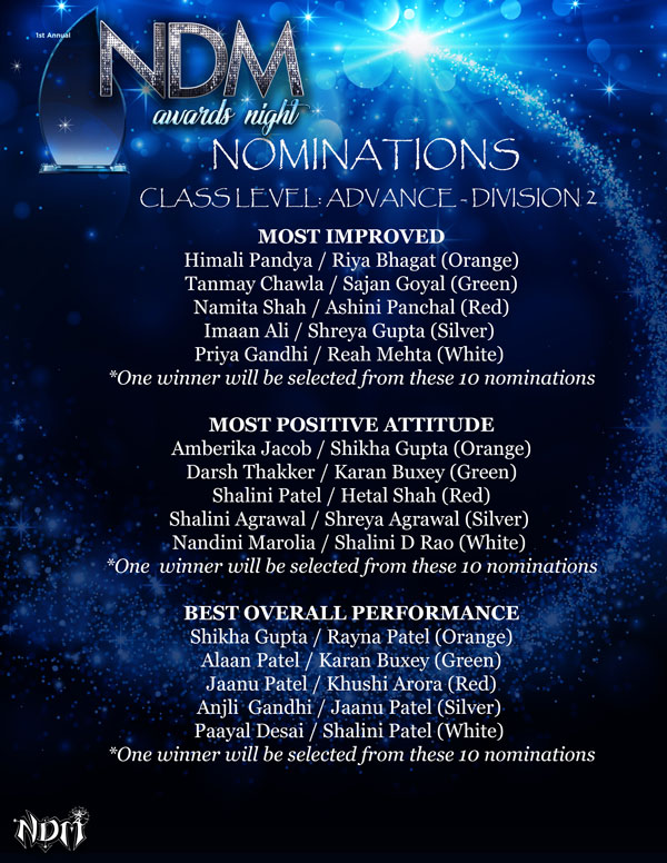 NDM-Awards-Night-Nominations-Class-Level-Advance-Division-2