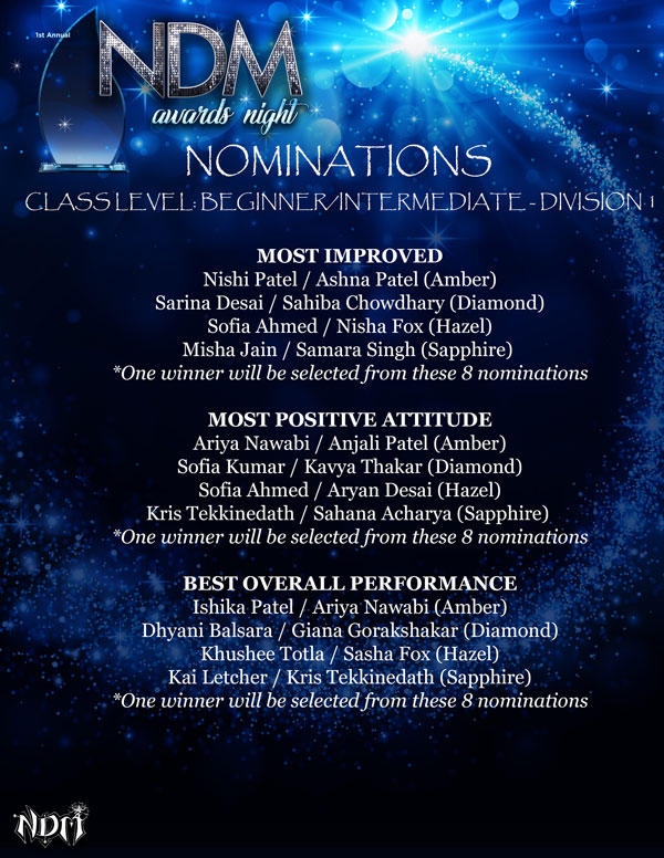 NDM-Awards-Night-Nominations-Class-Level-Beginner-Intermediate-Division-1