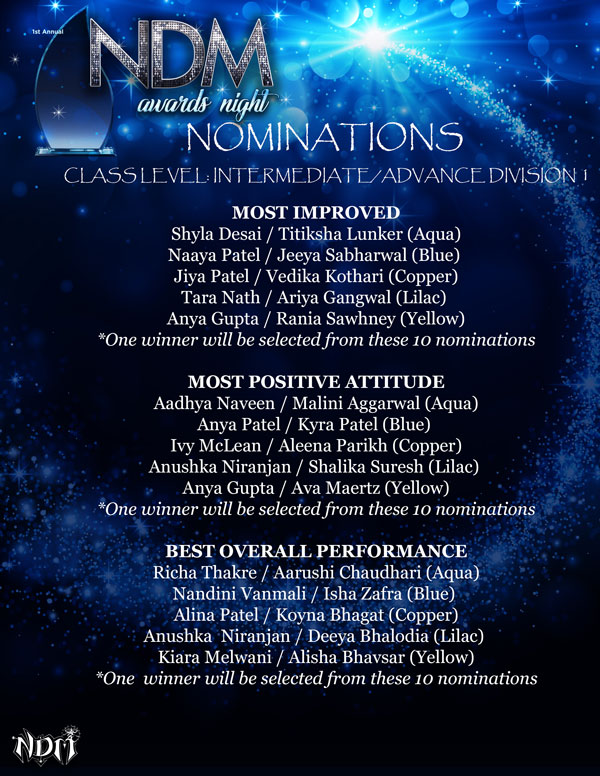 NDM-Awards-Night-Nominations-Class-Level-Intermediate-Advance-Division-1
