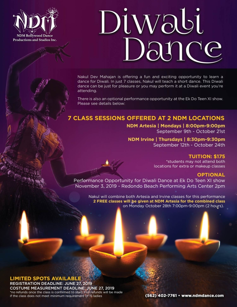 Diwali Dance 2019