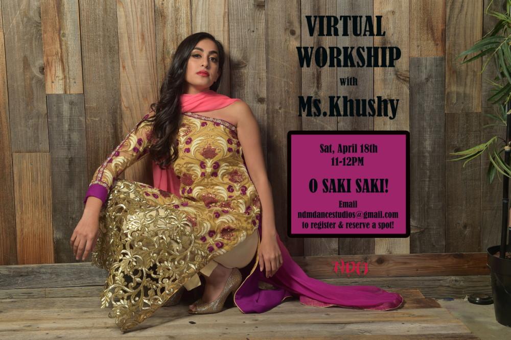 Virtual Workshop with Khushy